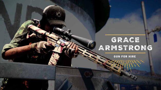 Far Cry 5 companion Grace Armstrong