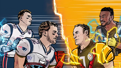 "Watch the Patriots and Steelers Face Off in a Real-Life ""Civil War"""