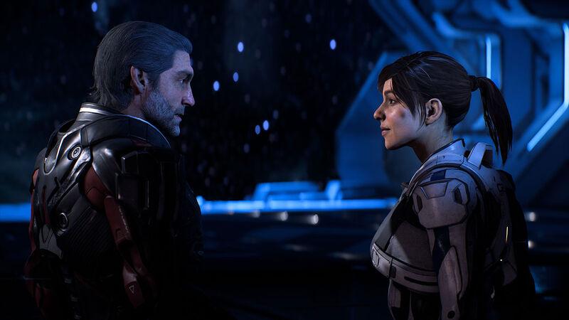 Mass Effect Andromeda, Alec and Sara Ryer