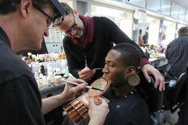 Black Panther Makeup