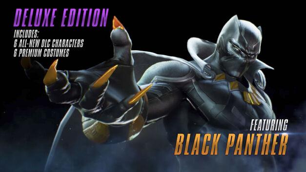 Black Panther - Marvel vs Capcom Infinite Roster