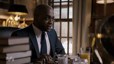NYCC: Rick Worthy 'The Magicians' Interview