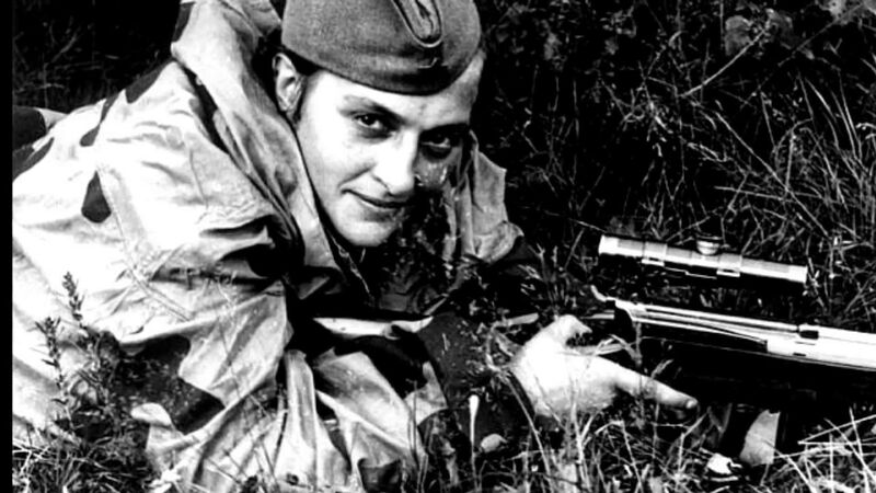 Lyudmia Pavlichenko, One Of Russia's greatest snipers