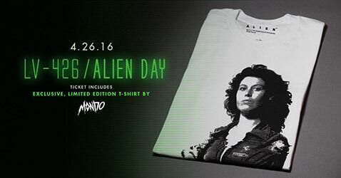 alien day tee