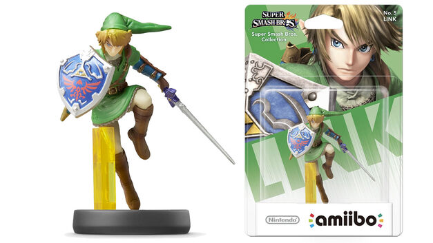 Smash Bros Link amiibo