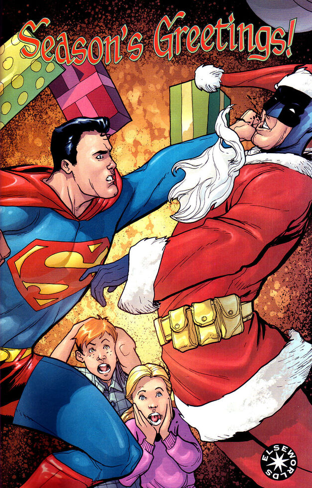 Batman Superman Christmas