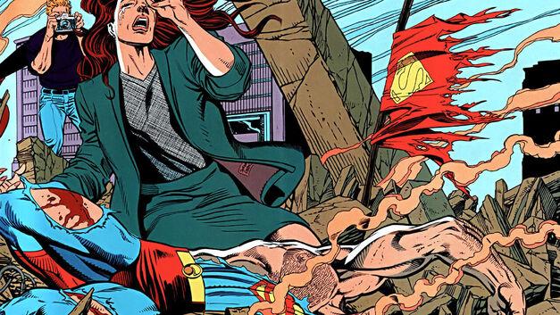 death-of-superman-panel