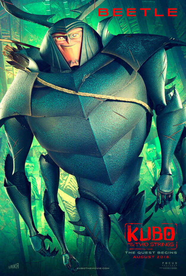 kubo and the two strings beetle