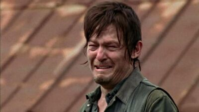"Norman Reedus ""Cry Smiled"" in Final 'Walking Dead' Scenes With Andrew Lincoln"