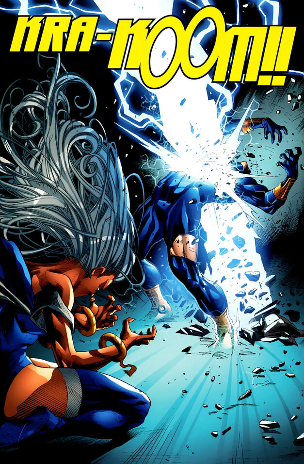 X-Men Worlds Apart Cyclops vs Storm 004