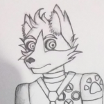 Krank the Gamer Coyote