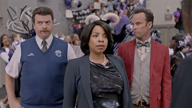 Vice Principals Gamby Russell and Brown
