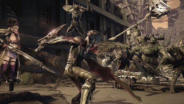 Code Vein combat enemies