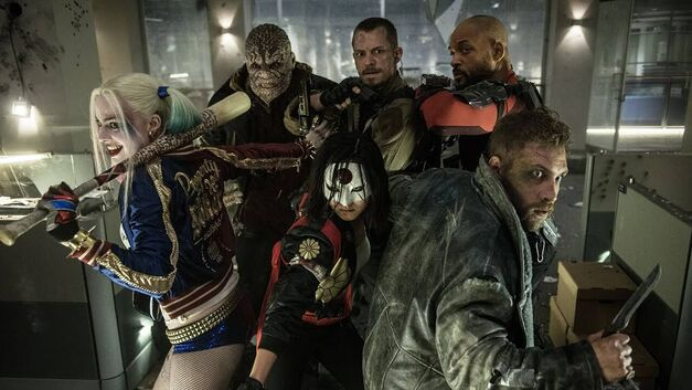 Suicide Squad Cropped