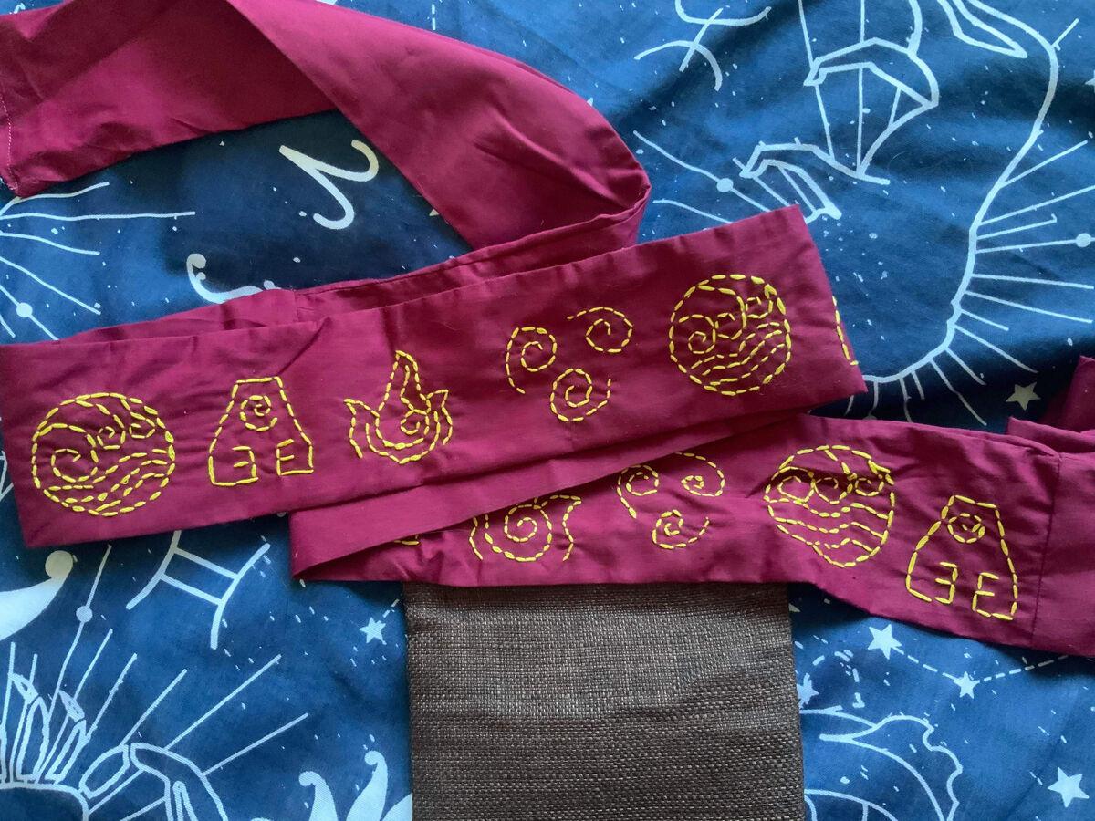 Avatar Aang cosplay Belt Photo