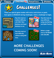 BTD4 New Challenges