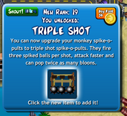 Triple shot unlock btd4