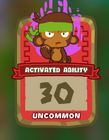 Uncommon Activated Ability