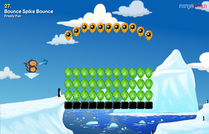 Bounce spike bounce