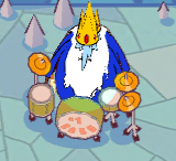 Ice King with 2 crowns and 4 arms
