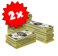 2X Monkey Money Icon