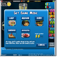BTD4 set game mode
