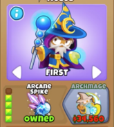 Arcane Spike Icons