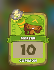 Common Mortar Tower