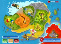 Mount Magma Map