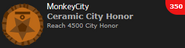Ceramic City Honor