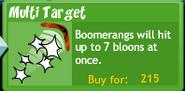 Multi Target Button
