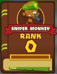 Sniper Monkey Knowledge