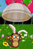 Bloons 2 Spring Fling Monkey Ace pilot
