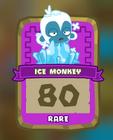 Rare Ice Monkey