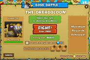 Dreadbloon fight screen