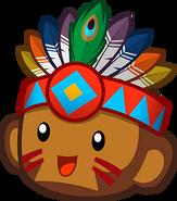 Tribal Boomerang Monkey