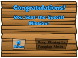 Congratulations Special Mission