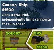 Cannon Ship Monkey Buccaneer