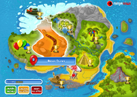 Bloon Dunes Bloons 2 Map
