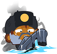 Danaged Submarine