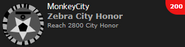 Zebra City Honor