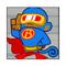 Super Monkey With Lazer Blasts