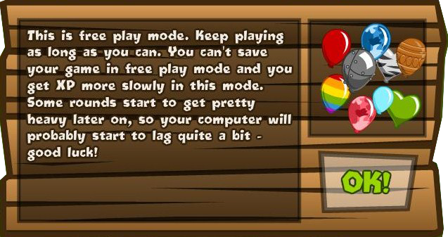 Freeplay Mode | Bloons Wiki | FANDOM powered by Wikia