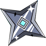 Silver shuriken