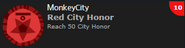 Red City Honor