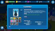 Clarence description