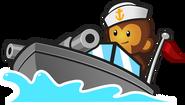 Navy Monkey Buccaneer