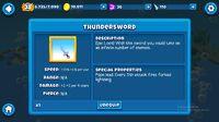 Thunderswords