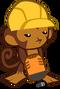 Monkey Engineer Icon