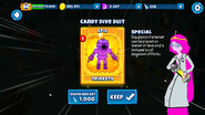 Candy Dive Suit Earn Card